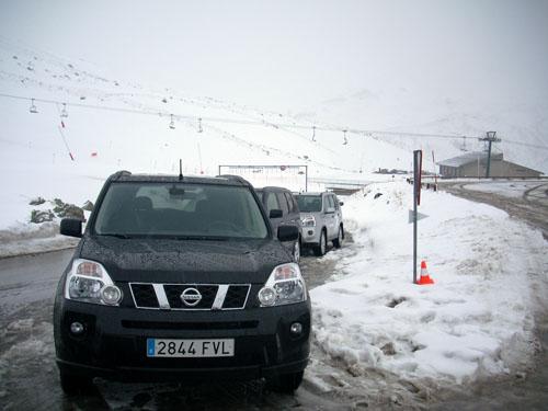 Nissan X-Trail en nieve