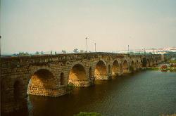Puente romano, en Mérida