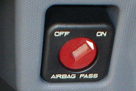 Desconexion de airbag