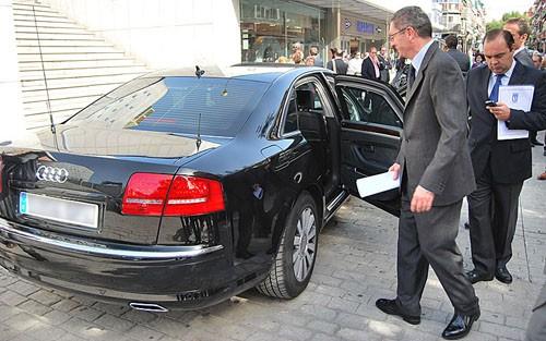 Audi A8 de Alberto Ruiz-Gallardon