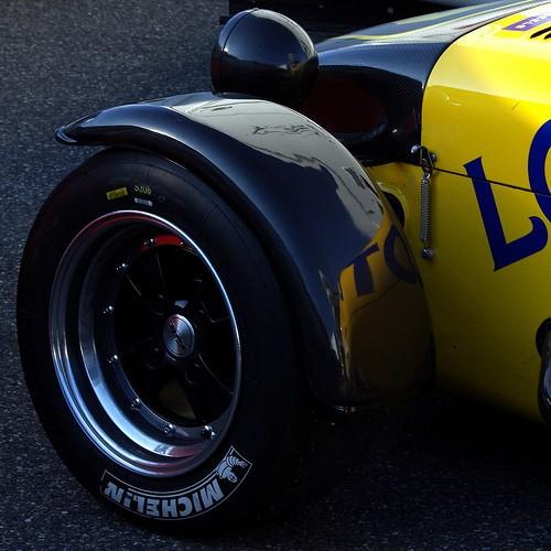 Una rueda Michelín