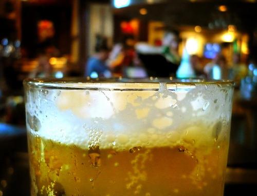 Cerveza y amigos