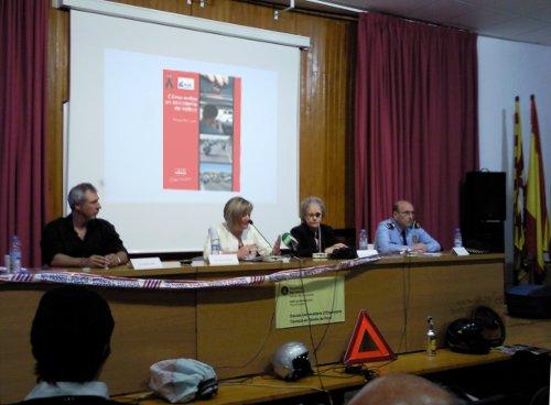 Conferencia sobre seguridad vial celebrada en Canet de Mar, el 15 de mayo de 2009