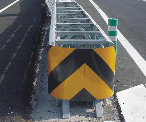 Atenuador de impacto, una pieza clave en la seguridad de la carretera
