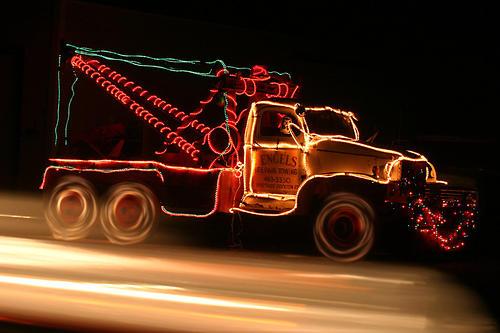 Camión y energía