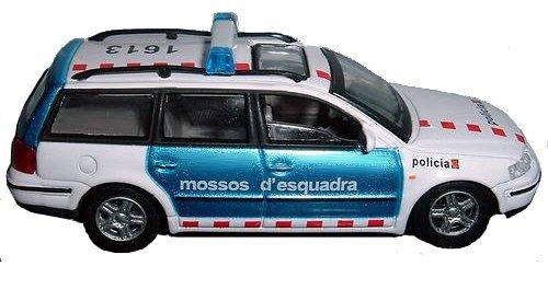 Miniatura de un coche patrulla de los Mossos d'Esquadra