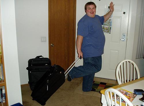 Saber cómo cargar las maletas, para poder disfrutar de las vacaciones