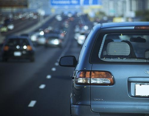 Tráfico en la autopista
