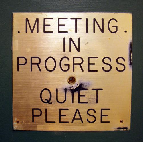Reunión de editores