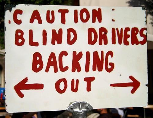 Conductores ciegos