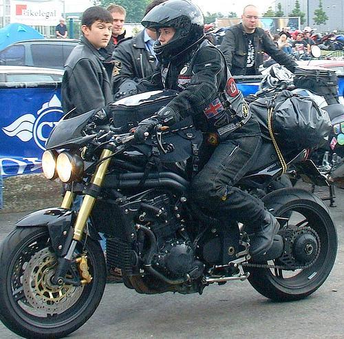 Rodando en moto