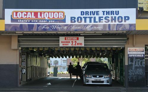 Alcohol fácil mientras conduces