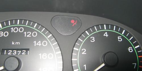 Testigo del mal funcionamiento del airbag