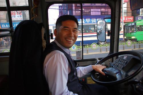 Conductor feliz