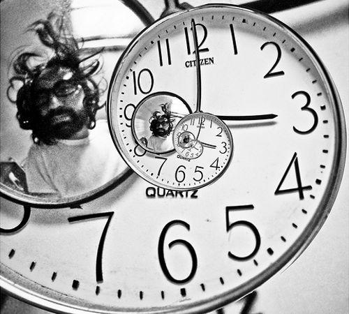 El paso del tiempo es relativo