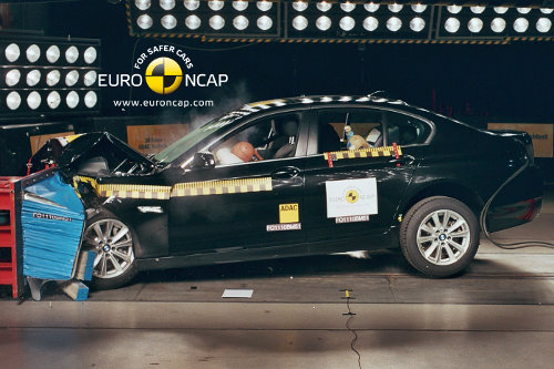 Crash Test de un BMW serie 5