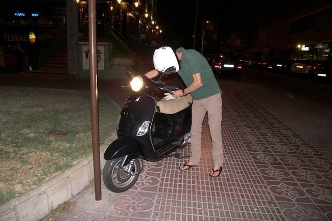 Chanclas Moto