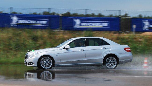 Frenada Mercedes-Benz Clase E