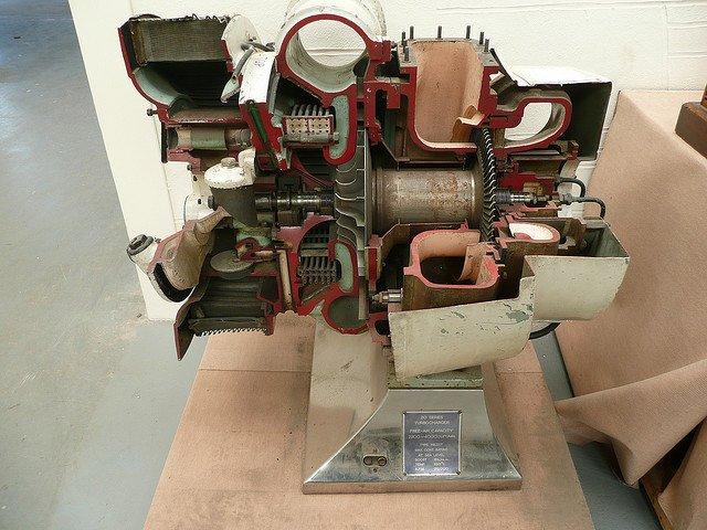 Un turbocompresor por dentro