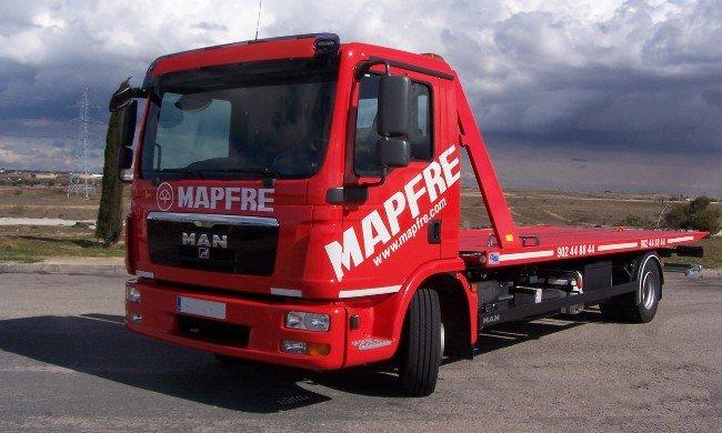 Grúa Asistencia en Carretera Mapfre