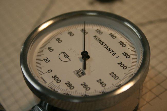 Los manómetros nos ayudan a medir la presión