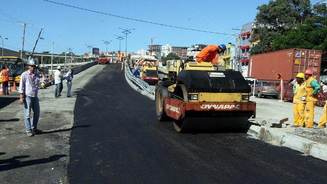 Obras en carreteras