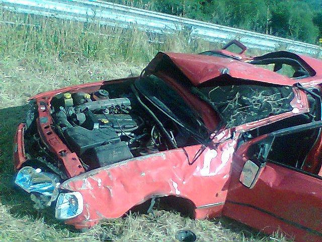 Este coche ha sufrido un desgraciado accidente