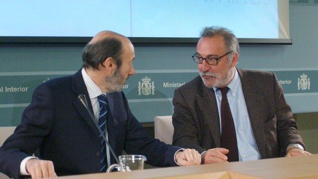 Alfredo Pérez Rubalcaba y Pere Navarro