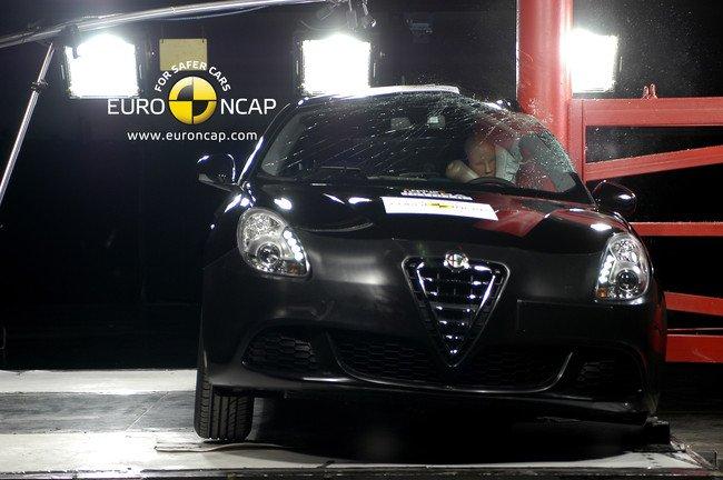 EuroNCAP - Alfa Romeo Giulietta