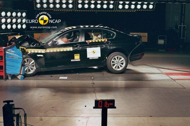EuroNCAP - BMW Serie 5
