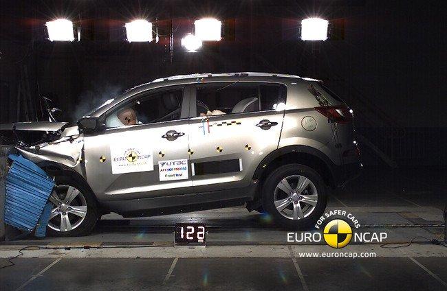 EuroNCAP -  Kia Sportage