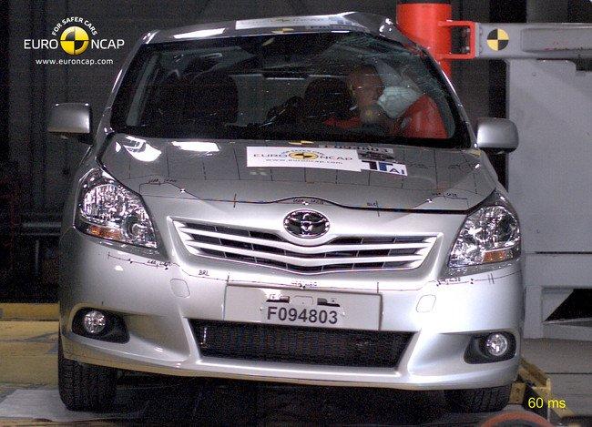 EuroNCAP - Toyota Verso