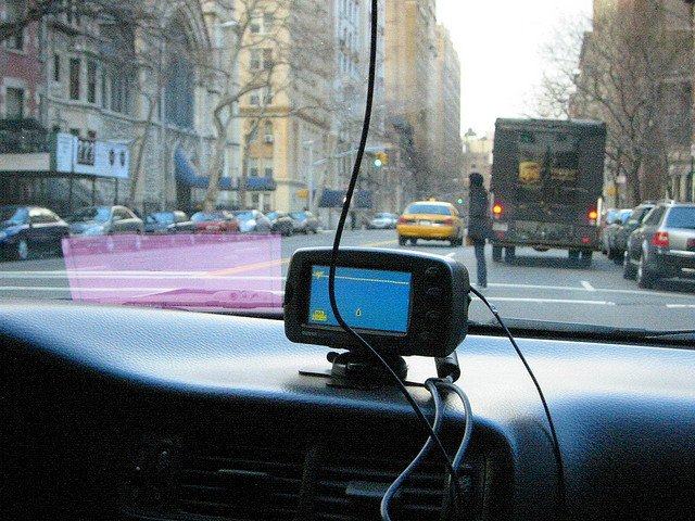 GPS en Manhattan