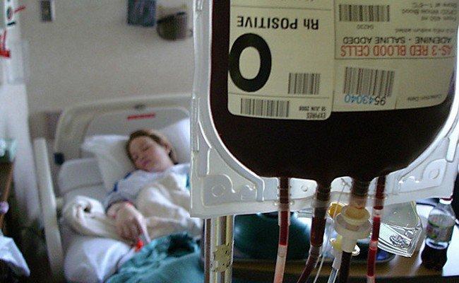 Donaciones de sangre y tejidos
