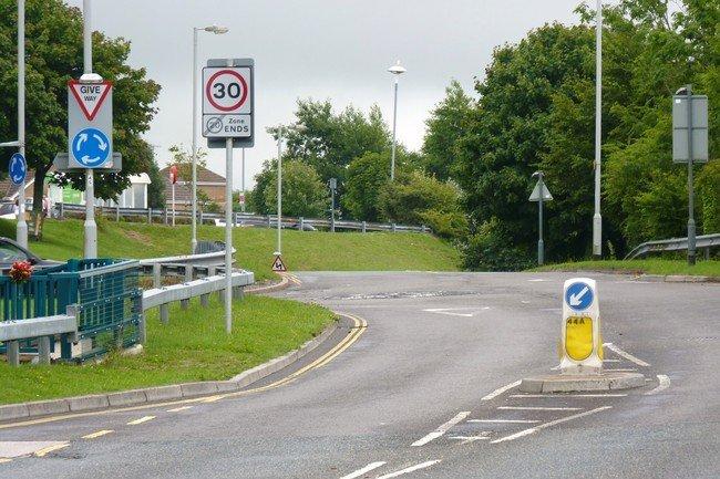 Rotonda en Reino Unido