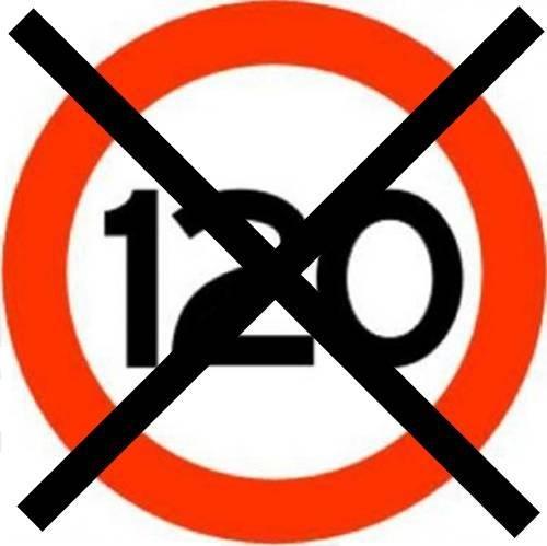 Limite 120km/h