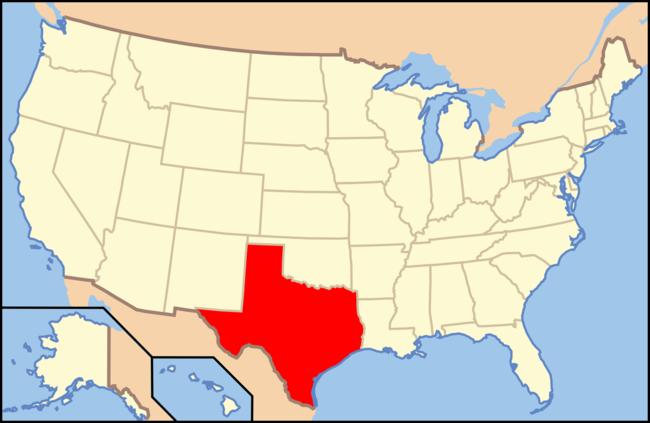 Mapa de Tejas