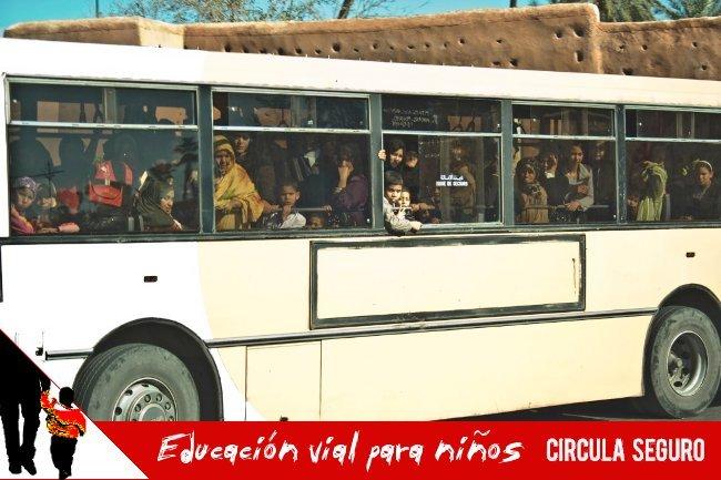 Autobús a rebosar