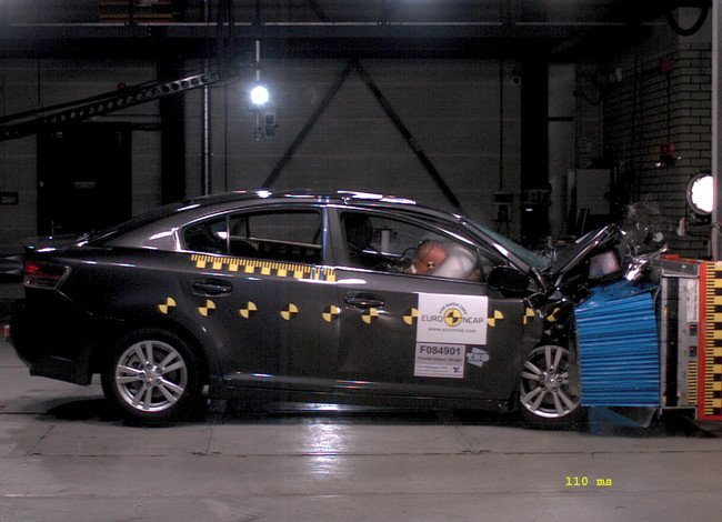 Crash test Toyota Avensis