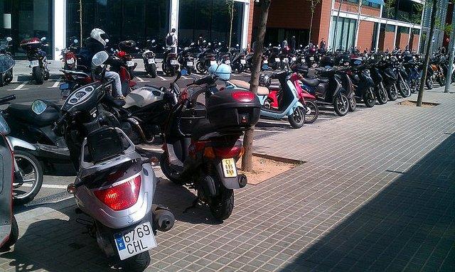 La ciudad de las motos