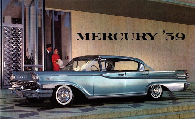 Ford Mercury Four Door Hardtop (1959)