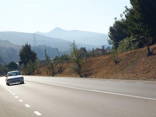 Ford Orion en carretera