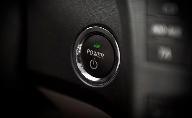 Botón de arranque del Toyota Prius