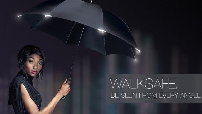 Walksafe, paraguas contra el atropello de peatones