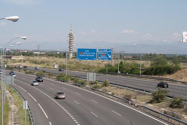 autopista de M.Peinado