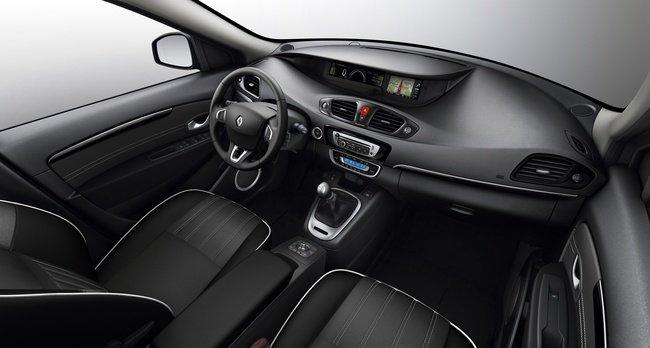 Interior del Renault Scénic