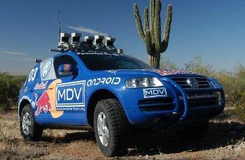 Stanley, vehículo ganador del desafío DARPA de conducción autónoma