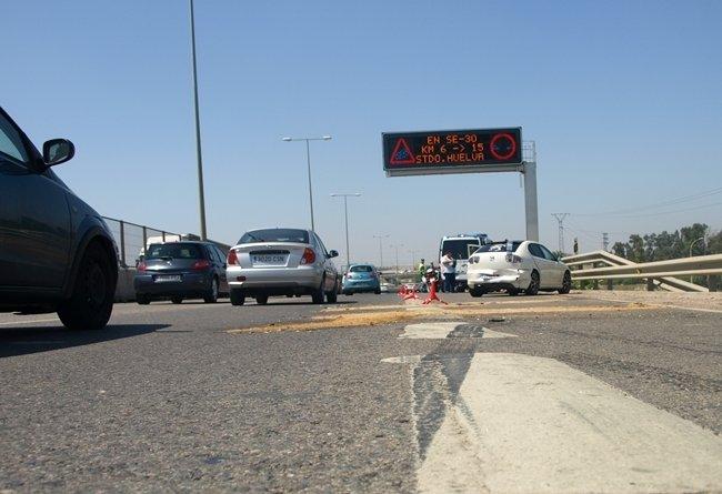 Accidente en autovía