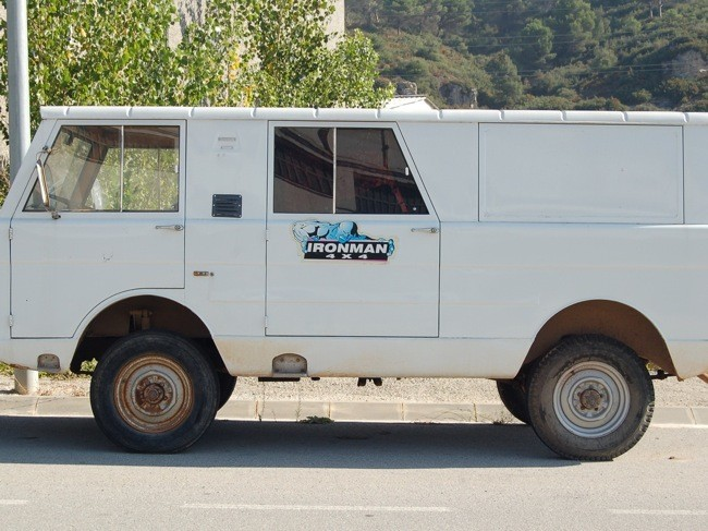 Jeep estacionado