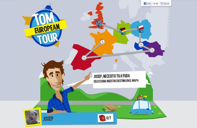 Tom European Tour